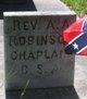 Rev A. A. Robinson