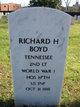 Lieut Richard H Boyd