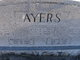 Esther Pearl <I>Barger</I> Ayers