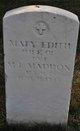 Mary Edith <I>Parsons</I> Maddox