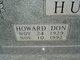 Howard Don Hudson