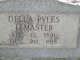 Profile photo:  Della <I>Pyles</I> Lemaster