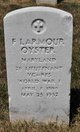 Francis Larmour Oyster
