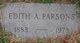 Edith Coleman <I>Allen</I> Parsons