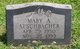 Profile photo:  Mary Alice Aeschbacher