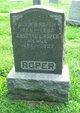 Profile photo:  Alvin Byrd Roper