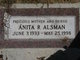 Profile photo:  Anita R Alsman
