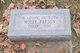 """Mary Harriet """"Molly"""" <I>Hinds</I> Parson"""