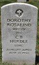 Dorothy Rosalind Hurdle