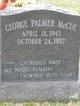 Profile photo:  George Palmer McCue