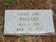 Gillie Jane Ballard