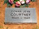 Profile photo:  Donna Jean Courtney