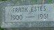 Profile photo:  Frank Estes
