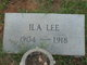 Ila Lee Porter