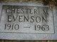 Chester Morris Evenson