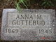 Anna M. <I>Hegland</I> Gutterud