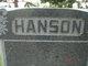 Eliza <I>Gutterud</I> Hanson