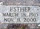 Esther <I>Sylling</I> Hanson