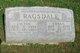 Edna Gertrude <I>Crabb</I> Ragsdale