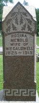 Rosina <I>Menold</I> Caldwell