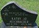 Profile photo:  Kathy Jo Aeschbacher