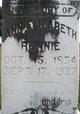 Ann Elizabeth Rennie