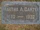 Martha A Carter