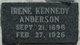 Irene Kennedy Anderson