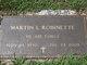 Capt Martin L. Robinette, Jr