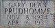 Gary Dean Prudhomme