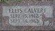 Ellis Calvert