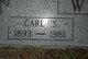 Carl Seyboth Ward Sr.