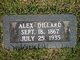 Profile photo:  Alexander L. Dillard