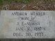 "Profile photo:  Andrew B ""Alice"" <I>Webber</I> Alman"