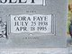 Cora Faye <I>Clements</I> Tankersley