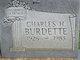 Profile photo:  Charles H Burdette