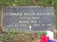 Leonard Hugh Hatcher
