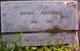 """Gertrude Agnes """"Agnes"""" <I>Kirkland</I> Rathwell"""