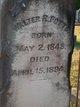 Walter R Potts