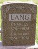 Profile photo:  Charles Lang