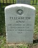 Elizabeth Ann Burkhardt