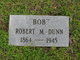 """Profile photo:  Robert Marion """"Bob"""" Dunn"""