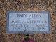 Profile photo:  Baby Allen