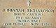 Pvt John Bunyan Richardson