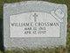 William Edward Crossman
