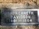 Dr Kenneth Anderson Davidson