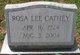 "Rosa Lee ""Rose"" <I>Carver</I> Cathey"