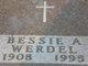 Bessie Anna <I>Beranek</I> Werdel