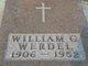 William George Werdel