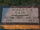 Ronald C Cain